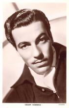 act018221 - Cesar Romero Movie Star Actor Actress Film Star Postcard, Old Vintage Antique Post Card