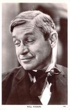 act018229 - Will Rogers Movie Star Actor Actress Film Star Postcard, Old Vintage Antique Post Card