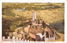 act018232 - Will Rogers Memorial, Cheyenne Mountain, Colorado Springs, CO Movie Star Actor Actress Film Star Postcard, Old Vintage Antique Post Card