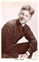 act018245 - Mickey Rooney Movie Star Actor Actress Film Star Postcard, Old Vintage Antique Post Card
