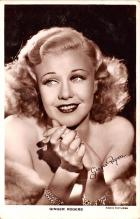 act018263 - Ginger Rogers Movie Star Actor Actress Film Star Postcard, Old Vintage Antique Post Card