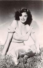 act018278 - Jane Russell Movie Star Actor Actress Film Star Postcard, Old Vintage Antique Post Card