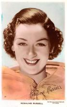 act018280 - Rosalind Russell Movie Star Actor Actress Film Star Postcard, Old Vintage Antique Post Card