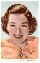 act018281 - Rosalind Russell Movie Star Actor Actress Film Star Postcard, Old Vintage Antique Post Card