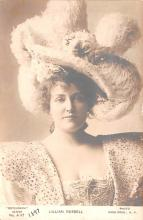 act018287 - Lillian Russell Movie Star Actor Actress Film Star Postcard, Old Vintage Antique Post Card