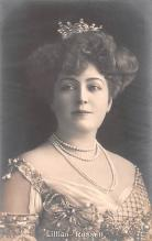 act018289 - Lillian Russell Movie Star Actor Actress Film Star Postcard, Old Vintage Antique Post Card