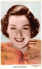 act018301 - Rosalind Russell Movie Star Actor Actress Film Star Postcard, Old Vintage Antique Post Card
