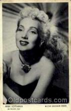 act019006 - Ann Sothern Actress / Actor Postcard Post Card Old Vintage Antique