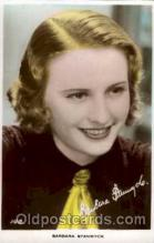 act019046 - Barbara Stanwyck Actress / Actor Postcard Post Card Old Vintage Antique
