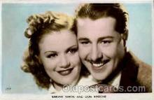 act019051 - S. Simon & D. Ameche Actress / Actor Postcard Post Card Old Vintage Antique