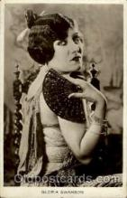 act019075 - Gloria Swanson Actress / Actor Postcard Post Card Old Vintage Antique