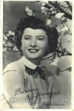 act019078 - Barbara Stanwyck Actor, Actress, Movie Star, Postcard Post Card