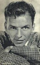 act019094 - Frank Sinatra Trade Card Actor, Actress, Movie Star, Postcard Post Card