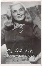act019121 - Lizabeth Scott Movie Actor / Actress, Entertainment Postcard Post Card