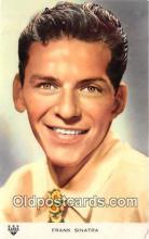 act019122 - Frank Sinatra Movie Actor / Actress, Entertainment Postcard Post Card