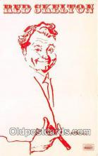 act019133 - Red Skelton Movie Actor / Actress, Entertainment Postcard Post Card