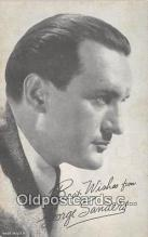 act019137 - George Sanders Movie Actor / Actress, Entertainment Postcard Post Card