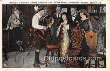 act019140 - Rodoph Valentino Movie Actor / Actress, Entertainment Postcard Post Card
