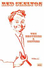 act019198 - Red Skelton Movie Star Actor Actress Film Star Postcard, Old Vintage Antique Post Card
