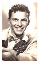 act019210 - Frank Sinatra Movie Star Actor Actress Film Star Postcard, Old Vintage Antique Post Card