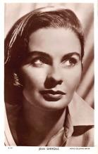 act019248 - Jean Simmons Movie Star Actor Actress Film Star Postcard, Old Vintage Antique Post Card