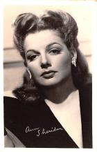 act019252 - Ann Sheridan Movie Star Actor Actress Film Star Postcard, Old Vintage Antique Post Card