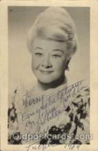 act020017 - Sophie Tucker Actor / Actress Postcard Post Card Old Vintage Antique