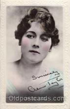 act020024 - Miss Alma Taylor Actor / Actress Postcard Post Card Old Vintage Antique