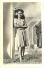 act020052 - Shirley Temple Actor / Actress Postcard Post Card Old Vintage Antique