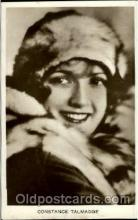 act020072 - Constance Talmadge  Actor / Actress Postcard Post Card Old Vintage Antique
