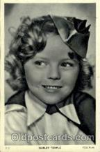 act020084 - Shirley Temple Actor / Actress Postcard Post Card Old Vintage Antique