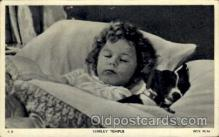 act020085 - Shirley Temple Actor / Actress Postcard Post Card Old Vintage Antique