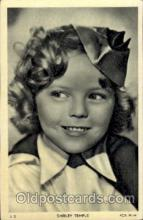 act020087 - Shirley Temple Actor / Actress Postcard Post Card Old Vintage Antique