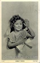 act020090 - Shirley Temple Actor / Actress Postcard Post Card Old Vintage Antique