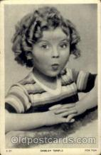 act020095 - Shirley Temple Actor / Actress Postcard Post Card Old Vintage Antique