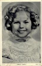 act020096 - Shirley Temple Actor / Actress Postcard Post Card Old Vintage Antique