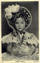 act020097 - Shirley Temple Actor / Actress Postcard Post Card Old Vintage Antique