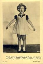 act020101 - Actress Shirley Temple Actor / Actress Postcard Post Card Old Vintage Antique