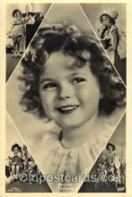 act020102 - Actress Shirley Temple Actor / Actress Postcard Post Card Old Vintage Antique