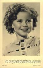 act020103 - Actress Shirley Temple Actor / Actress Postcard Post Card Old Vintage Antique
