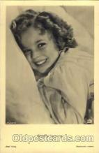 act020105 - Actress Shirley Temple Actor / Actress Postcard Post Card Old Vintage Antique