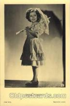 act020111 - Actress Shirley Temple Actor / Actress Postcard Post Card Old Vintage Antique