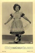 act020128 - Actress Shirley Temple Postcard Post Card