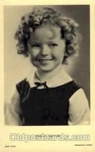 act020133 - Actress Shirley Temple Postcard Post Card