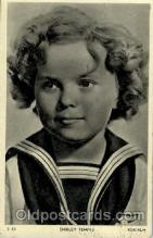 act020146 - Shirley Temple Actress Postcard Post Cards Old Vintage Antique Movie Star