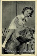 act020149 - Shirley Temple Actress Postcard Post Cards Old Vintage Antique Movie Star