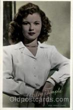 act020153 - Shirley Temple Actress Postcard Post Cards Old Vintage Antique Movie Star