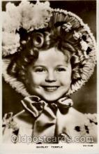 act020154 - Shirley Temple Actress Postcard Post Cards Old Vintage Antique Movie Star