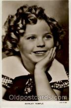 act020158 - Shirley Temple Actress Postcard Post Cards Old Vintage Antique Movie Star