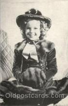 act020163 - Shirley Temple Actress Postcard Post Cards Old Vintage Antique Movie Star